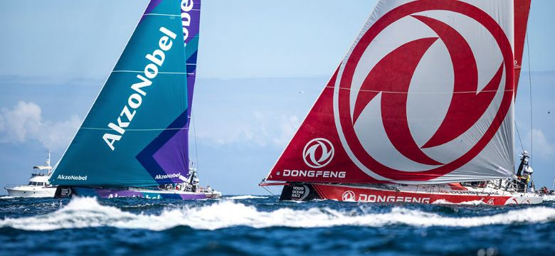 Faber Audiovisuals officiele AV race supplier Volvo Ocean Race