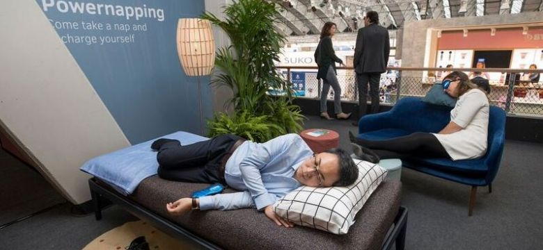 Gouden Giraffe Categorie Brand Events: Auping Powernapping Area