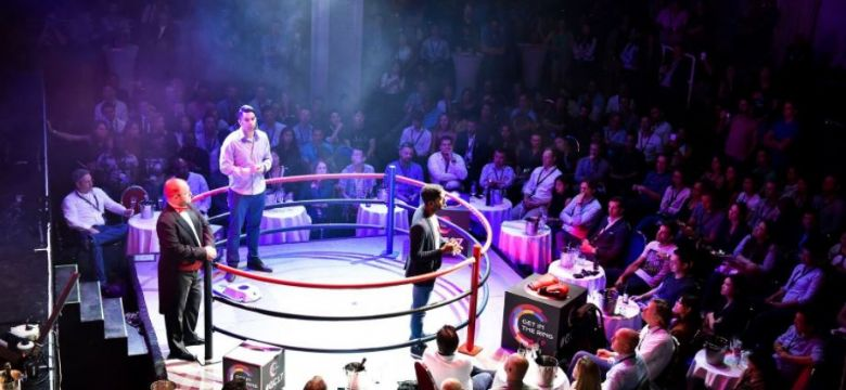 Gouden Giraffe Categorie Congressen: Get in the Ring