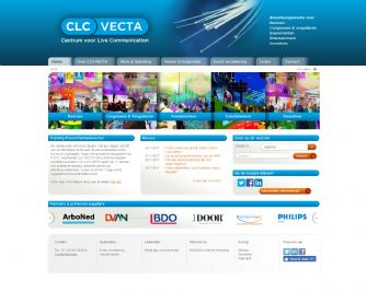 Bezoek de website van CLC-VECTA Centrum voor Live Communication