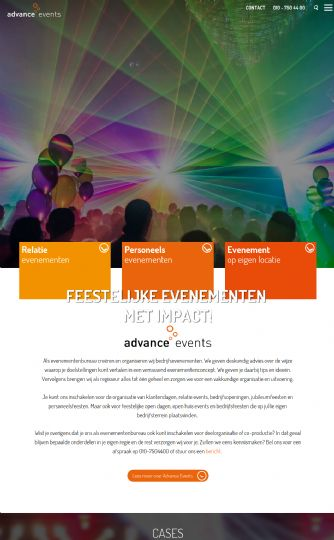 Bezoek de website van Advance Business Events