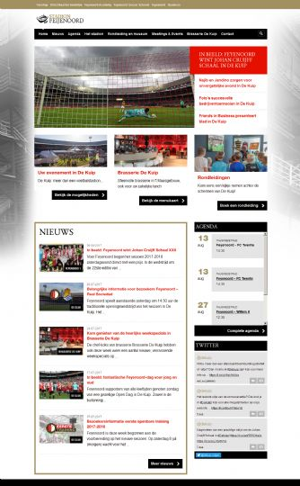 Bezoek de website van De Kuip Meetings & Events