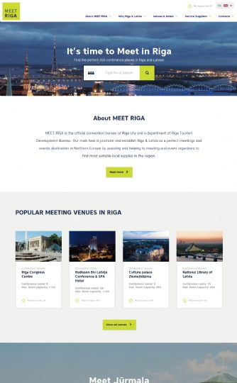 Bezoek de website van Foundation Riga Tourism Development Bureau